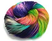 Boogaloo- Handpainted Yarn- Dye to Order, Sock, Fingering, Sport, Bulky