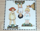 Paper Dolls Set - Mary & Co.