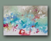Painting Abstract Art Original Wall Art Modern Abstract Art Expressionist Large Contemporary Acrylic Canvas Painting by Linda Monfort
