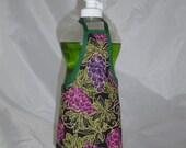 Grape Decor Dish Soap Apron Bottle Cover Wrap Staffer Party Favor Lg