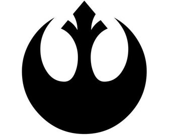 Rebel alliance decal, Star Wars, decal, wall decal, wall art, vinyk, car decal, cup decal