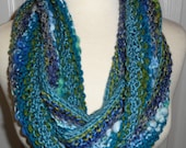 CLEARANCE Moebius Knit Scarf A Little Bit of This and A Little Bit of That