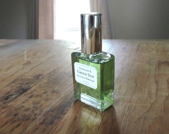 Green Sun Natural Perfume Oil - a playful citrus fragrance