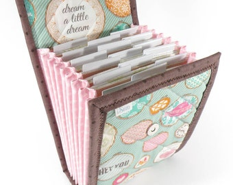 Circular Needle Case - Pretty Hoops - Needle Holder Needle Wallet Circular Needle Organizer Pastels
