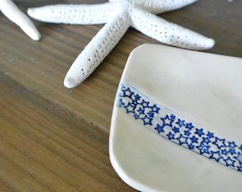 Trinket Dish with STARS