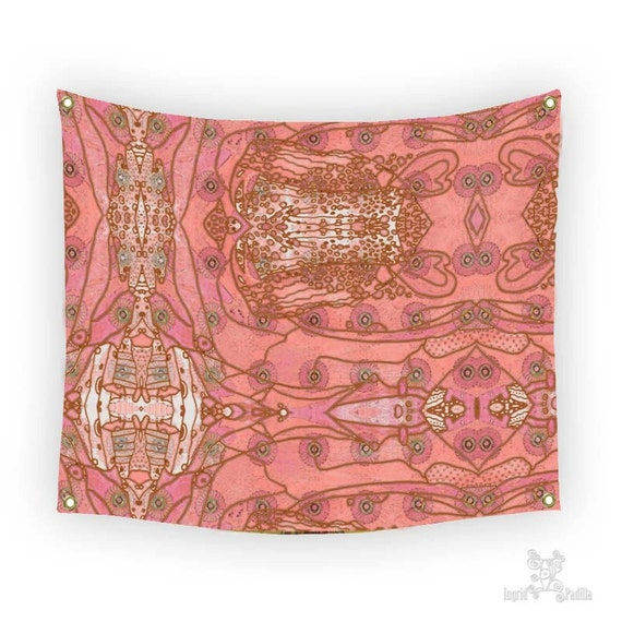 Boho Tapestries, Wall tapestries, Tapestry Wall Hanging, pink tapestry, Boho decor, Tapestry, Tapestries, Wall Tapestry hanging