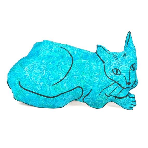 Large Animal Shaped Pillows : decorative pillow cat pillow animal pillow big by pattihaskins