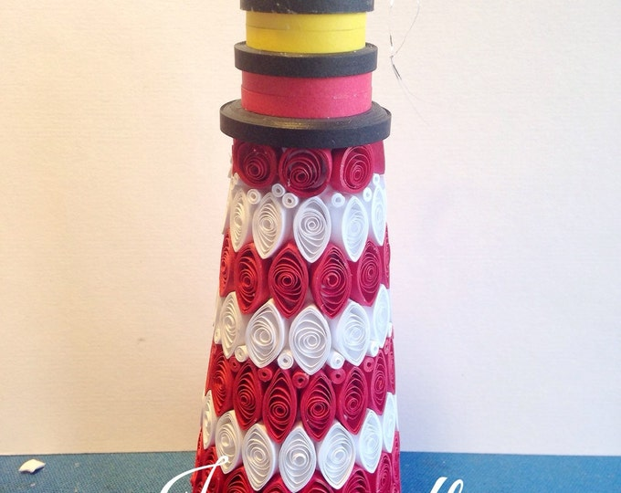 Quilled Lighthouse Ornament