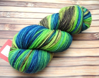80's Jam - Sturdy - Sock Yarn - Hand Dyed Yarn - IN STOCK