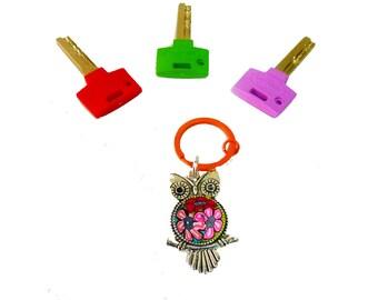 Owl keychain, Owl key ring ,Owl  Key,Owl, accessories,Keychain,key holder, unique key chain, bag decorate,key chain for woman,cute key chain