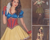 Simplicity 1093 Misses Steampunk Princess Fairy Cos Play Costumes UNCUT