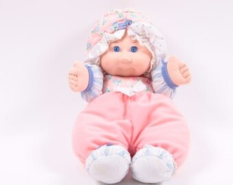 Vintage Soft Cabbage Patch Kids Baby Doll - Infant Toy Pink Doll ~ Pink Room ~ 160919