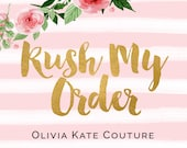 Reserved for Brittany Rush Order RO
