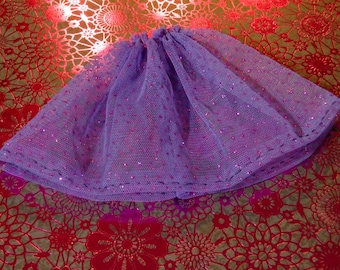 Blythe Skirt - Purple Sparkle Tulle Underskirt