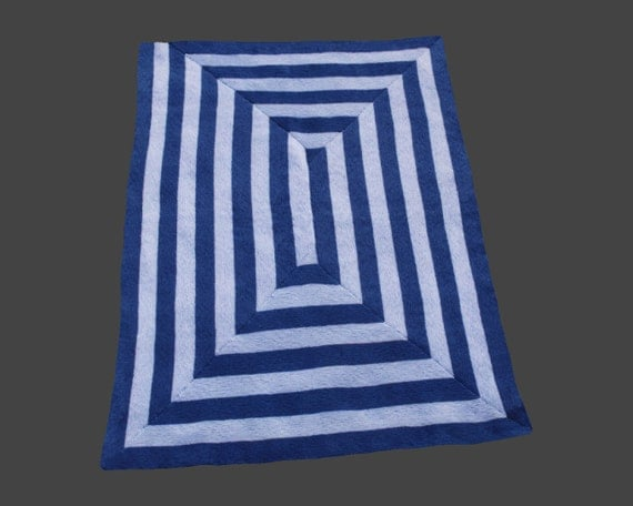 The Long and Winding Road - PDF pattern for knitted afghan