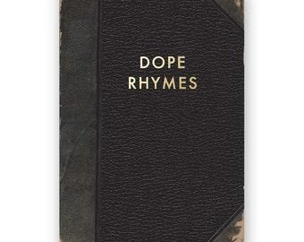 Dope Rhymes - JOURNAL - Humor - Gift