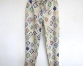 Nani Iro Japanese sewing pattern - slim pants