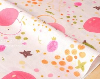Japanese Fabric - fruity double gauze - pink - 50cm