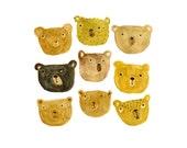 Bears - cute art print