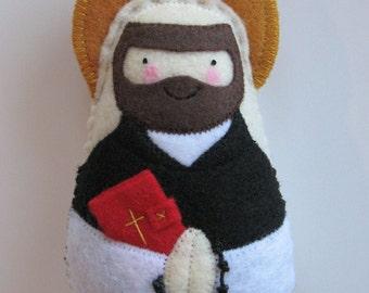 Saint Dominic Felt Saint Softie