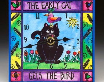 The Early Cat Clock