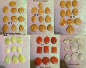 CABOCHON lot SUPER SALE! 27 lots at 75 cents or less per cab! Custom orders ok.
