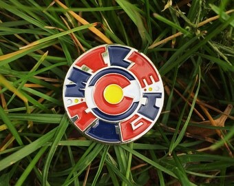Mile High- Colorado - Soft Enamel Pin