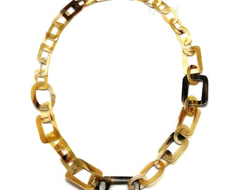 Horn Chain Necklace - Q5271