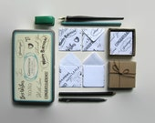 Greetings Mini Stationery Set - White Envelopes and Blank Cards