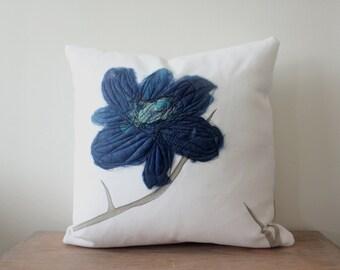 Cushion Cover - Indigo Blue