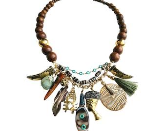 Sister Safari 3 Necklace