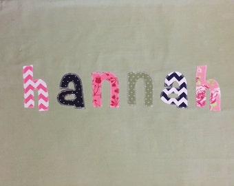 Personalized Pillowcase - Boy OR Girl - by Green Apple Boutique