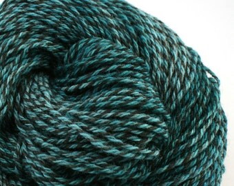 Rockwell Hand Dyed DK weight Wool 280 yds 4oz Marine