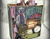 MEN'S FINE LIFE  All Occasion Scrapbook Scrapbooking Chipboard Album