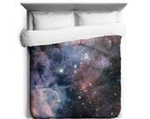 Nebula Duvet, Carina Nebula Duvet Cover, Galaxy Bedding