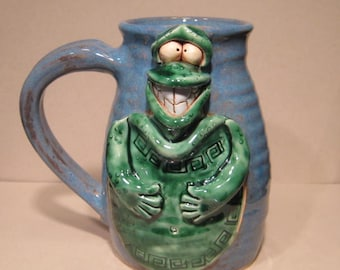 Happy Turtle Mug  ........                              e872