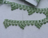 Fantastic hand made beaded lace