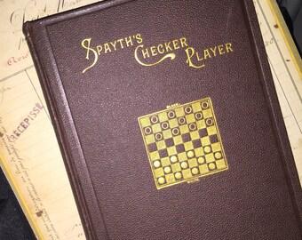 1895 Spayth's Checker Player