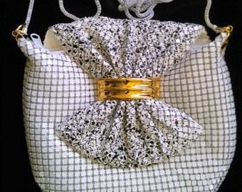 Vintage 1980s Chainmail Evening Bag