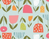 Fresh Blooms from the Juicy collection for Monaluna Fabrics
