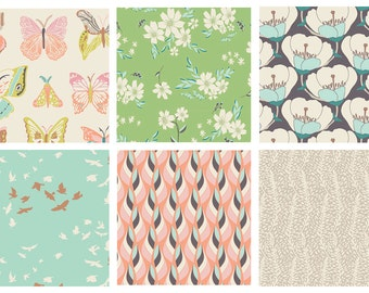 6 YARD BUNDLE - Winged by Art Gallery Fabrics Bundle