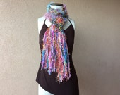 Easter Scarf Spring Scarf Womens or Girls Scarf Gift Daughter Gift Mom Gift Best Friend Gift Sister