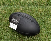 Leather Head Black Onyx Football Handmade (F1-Onyx)
