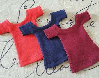 3 Tee Shirt set for Ellowyne Wilde Volks Dollfie Slim Mini bjd Tonner