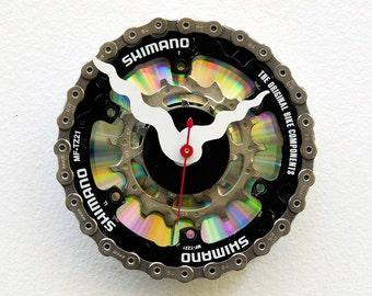 Recycled Bike Gear Clock