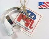 GOP Elephant Cookie Cutter by Ann Clark