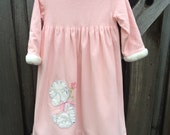 70s Night Gown 3/4T
