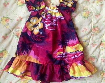 Hawaii Dress 4T