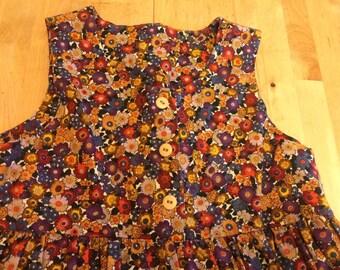 Floral Dress Girls 5/6