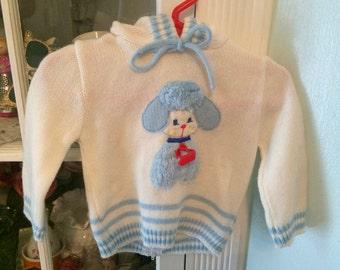 Puppy Sweater 9-12 Months